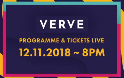 The 2019 Programme and Tickets go Live on Monday!